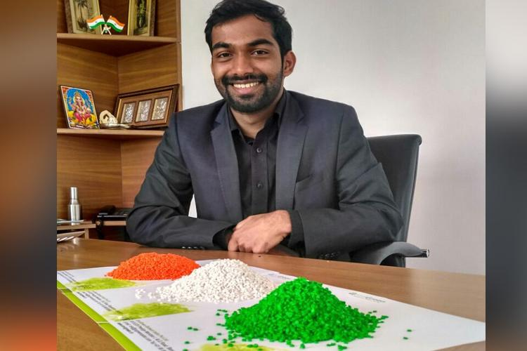 This Bengaluru company is making biodegradable non-toxic plastic using tapioca starch and vegetable waste