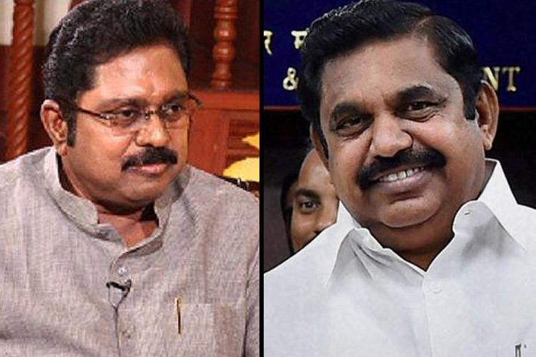 TN CM EPS sacked from party post as TTV Dhinakaran escalates AIADMK feud