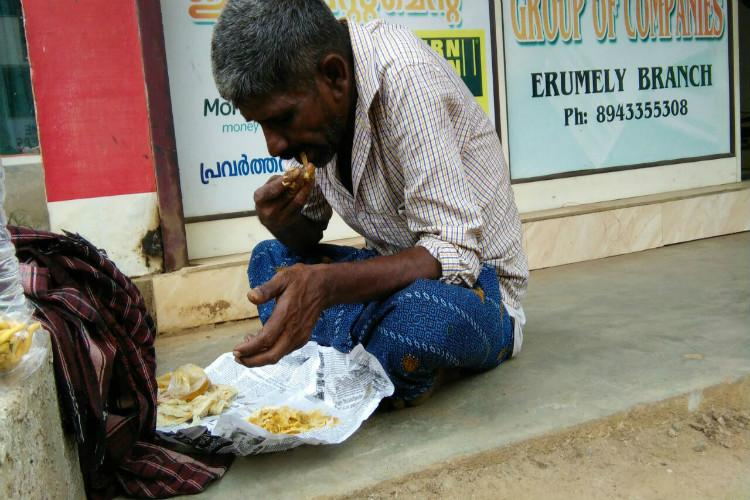 How this Kerala town came together to help a man who was eating sand out of hunger