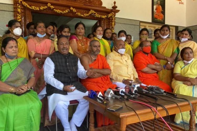 Eshwarappa is known to make controversial statements