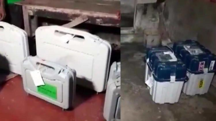 BJP demands probe after EVMs VVPATs found at Trinamool leaders home