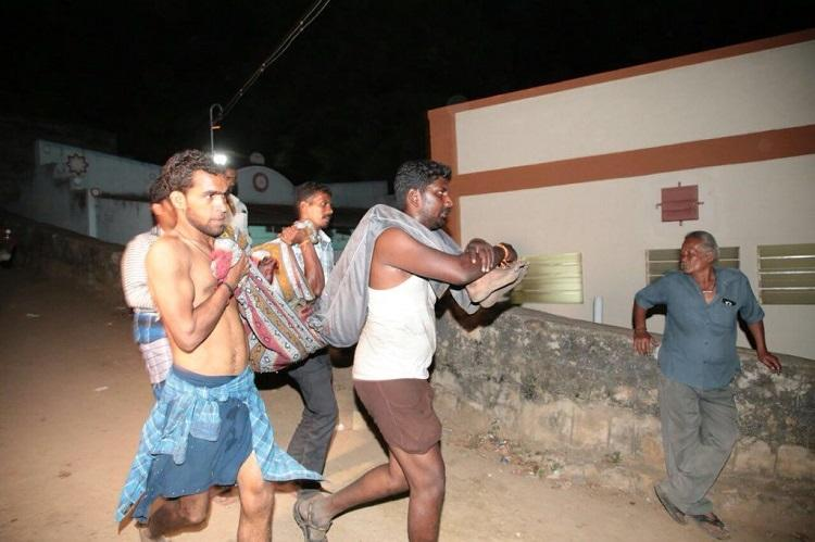 Theni forest fire Nine people charred to death and several others critical