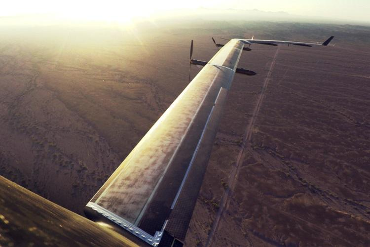 Facebooks solar-powered drone set to beam free internet for billions