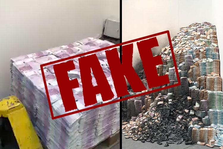 Video claiming I-T officials found stacks of cash at DK Shivakumars house is fake