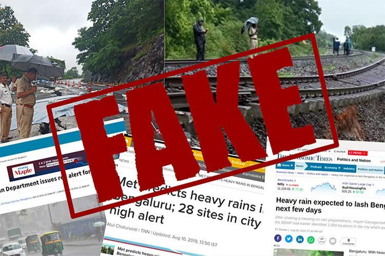 TNM fact check Debunking three viral rumours in flood-hit Karnataka