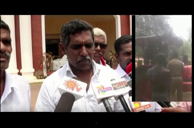 Mallya gets away but a TN farmer gets thrashed dragged by police over his loan