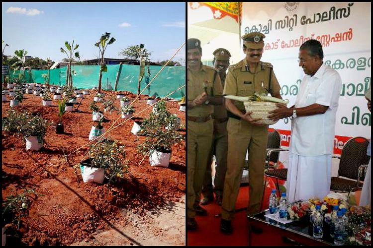 Police stations in Kerala lead the way in organic farming grow vegetables in compound