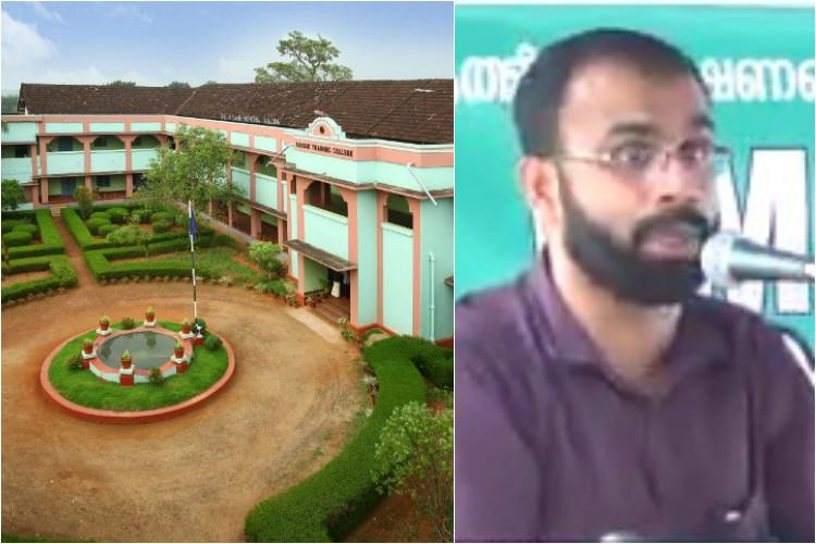 Muslim groups criticise case against Kerala prof who said girls bare breasts like sliced melons