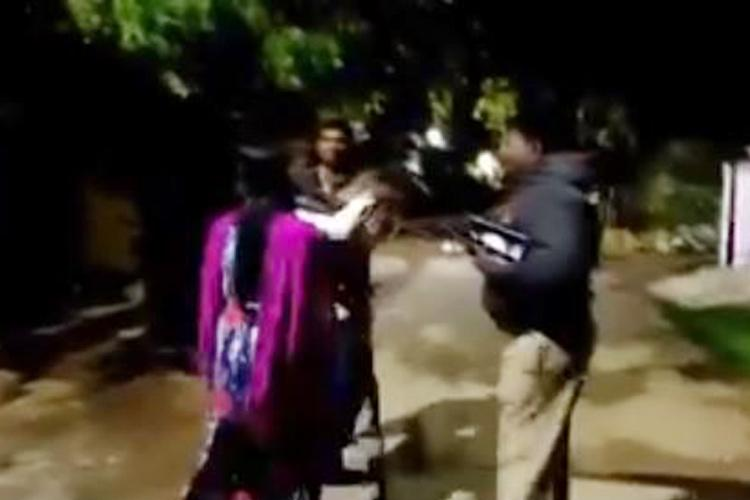 Horror video from Hyderabad Father flings 3-yr-old son against autorickshaw