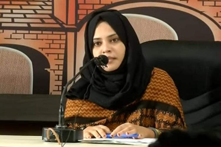 Fathima Thahliya press meet