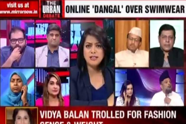 When news anchor Faye D'Souza tore into Maulana Yasoob Abbas over sexist remark on live TV