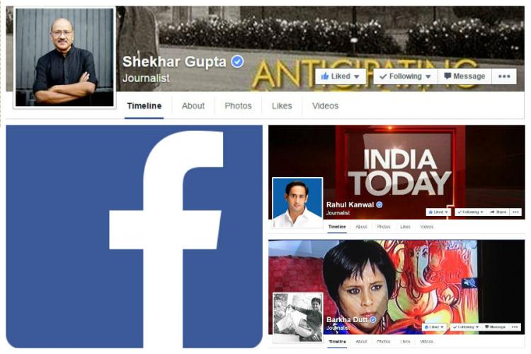 Many influential Indian journalists are going big on Facebook and here is why