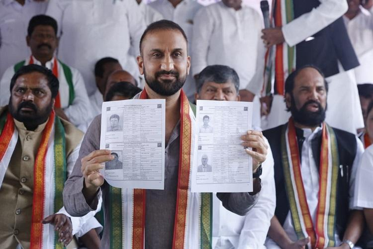 Anyone can fake it Telangana Congress workers forge voter IDs of election officers