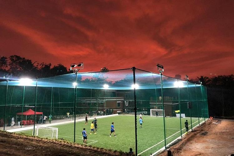 Under the floodlights Football fans in Tpuram get a new space for some kicks