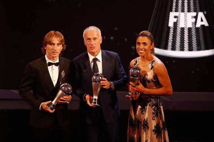 Croatias Luka Modric named best male player at FIFA awards