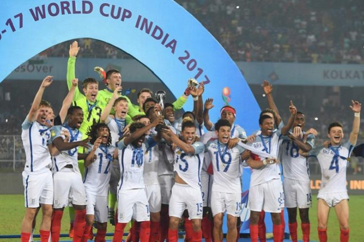 England makes stunning comeback after being 2-0 down lifts their maiden U-17 World Cup title