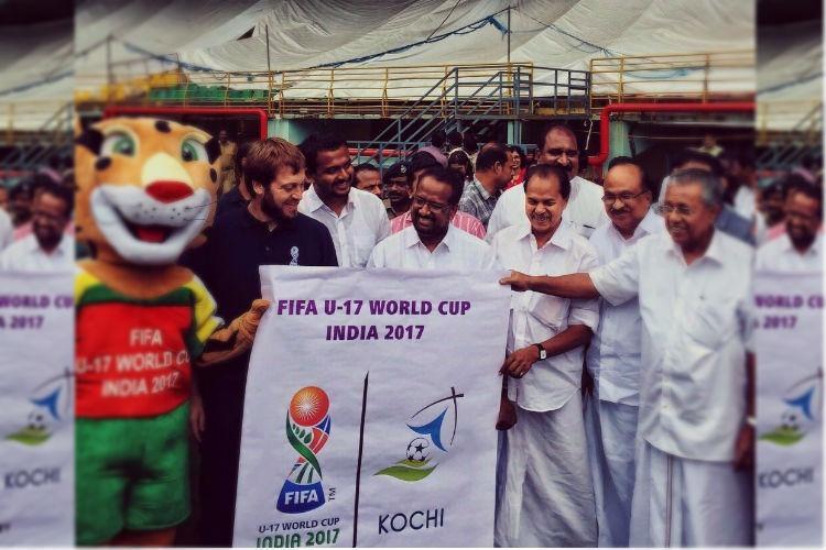 Kerala CM launches U-17 World Cup logo for Kochi venue