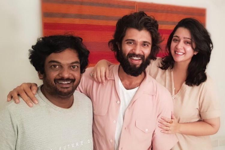 Vijay Devarakonda and Puri Jagannadhs film titled Fighter