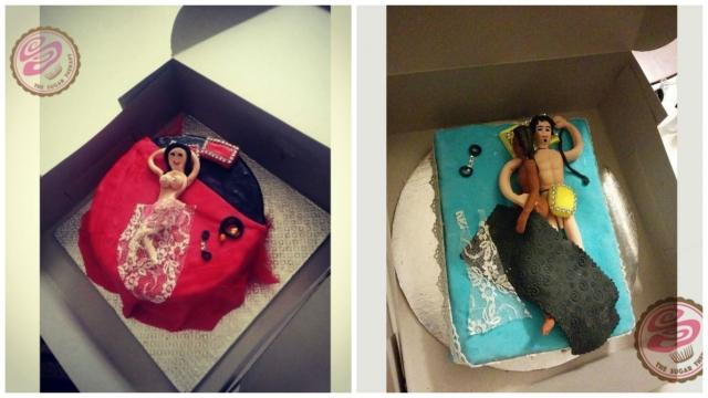 Cake Kamasutra Adult-themed icings are getting bold and naughty