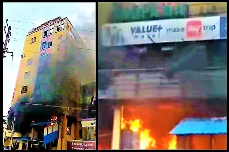 Fire breaks out in Hyderabad lodge; 30 rescued