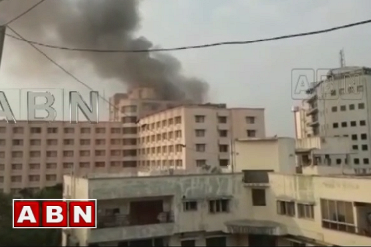 Fire breaks out at Hyderabad hotel no injuries reported