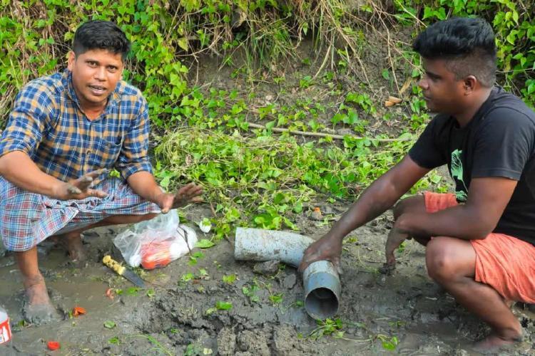 A screenshot of the video of Firoz Chuttipura