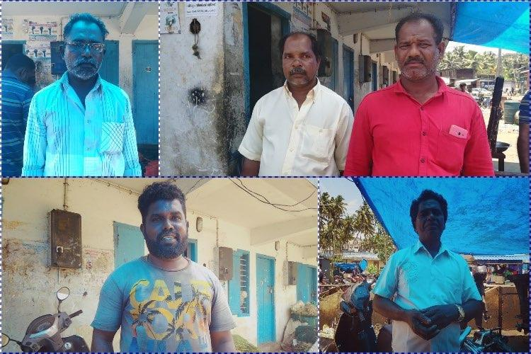 Clockwise from top left Freddie Francis Ajees Muthappan and Seldan