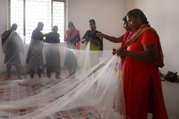 A year after cyclone Ockhi fishermens wives find a new life at fishnet factory in TVM