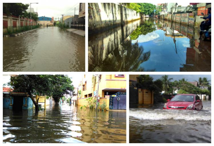 No one to help Areas in North Chennai have been suffering due to rains for two weeks