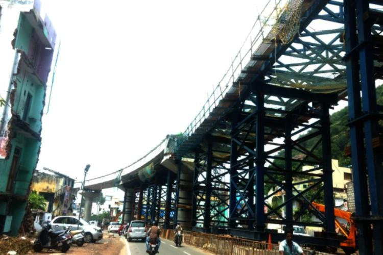 Vijayawadas Kanaka Durga flyover to be opened in March next year says AP Minister