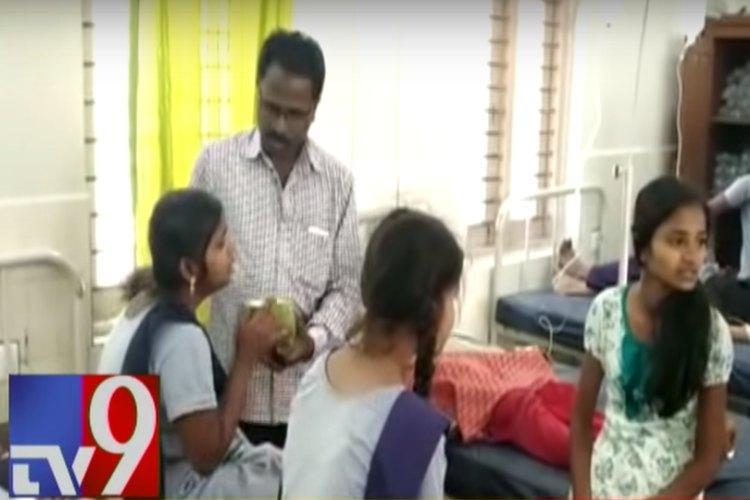 67 schoolgirls in Telangana hospitalised for food poisoning principal booked