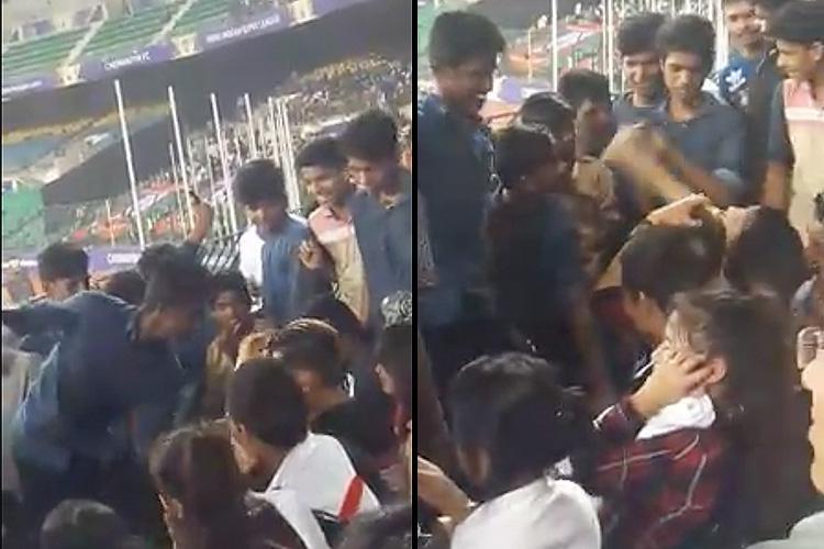 Two caught on video harassing north eastern women at Chennai football stadium arrested