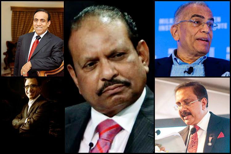 Yusuff Ali Ravi Pillai PNC Menon in list Meet ten billionaires from Kerala