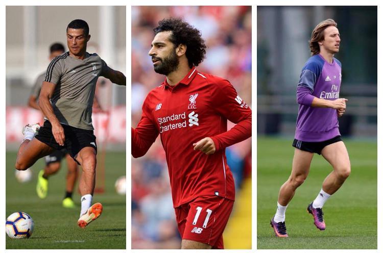 Ronaldo Modric Salah shortlisted for The Best FIFA Mens Player Award
