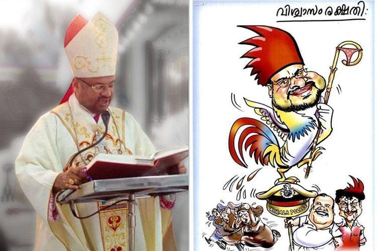 Kerala govt under church pressure to re-examine award for Bishop Franco cartoon
