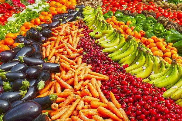 Eat more fruits and vegetables for a happy life