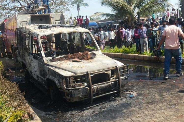 Village cries custodial death but Karnataka police claim sand mafia is manipulating people