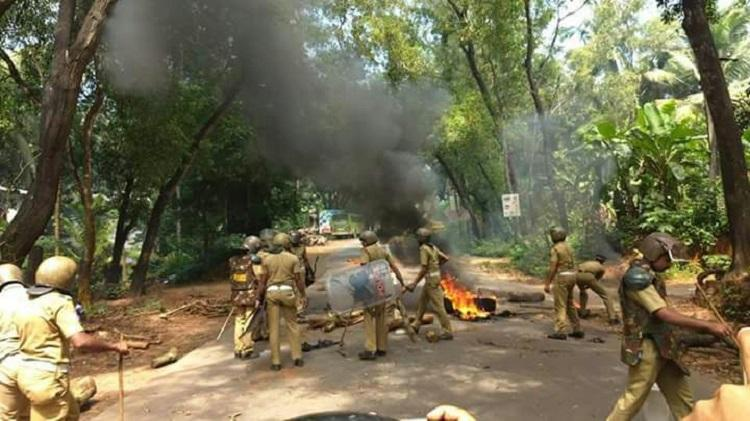 Tension simmers in Kozhikode after protest over GAIL pipeline turns violent