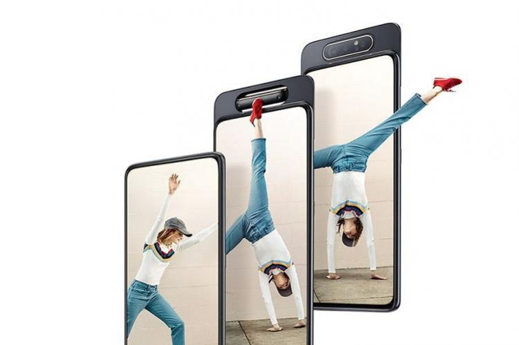 Samsung launches Galaxy A80 with rotating pop-up selfie camera