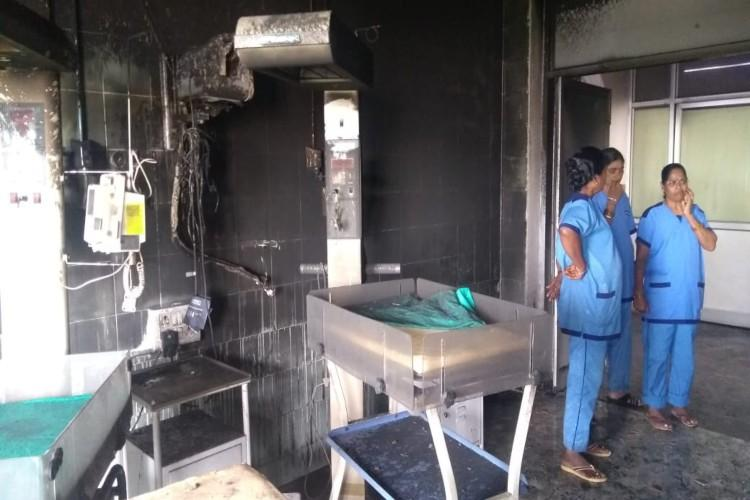 Fire at Hyderabad govt hospitals neonatal ICU exposes safety concerns staff says