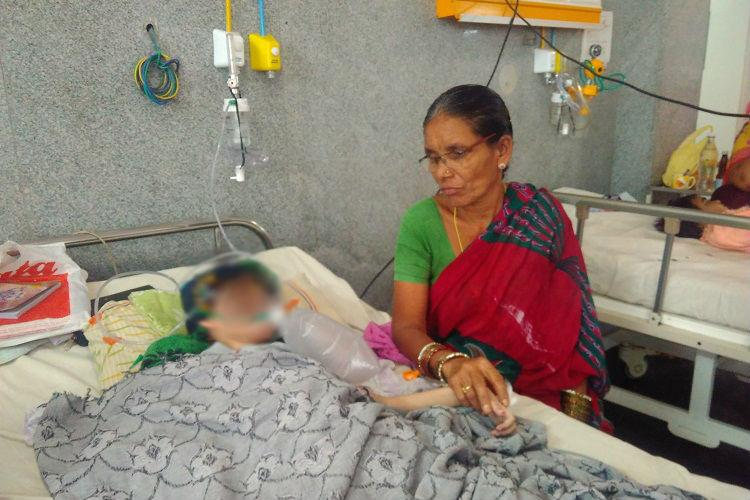 62 days of anxiety an eternity of grief Child victim of alleged negligence dies in Hyderabad