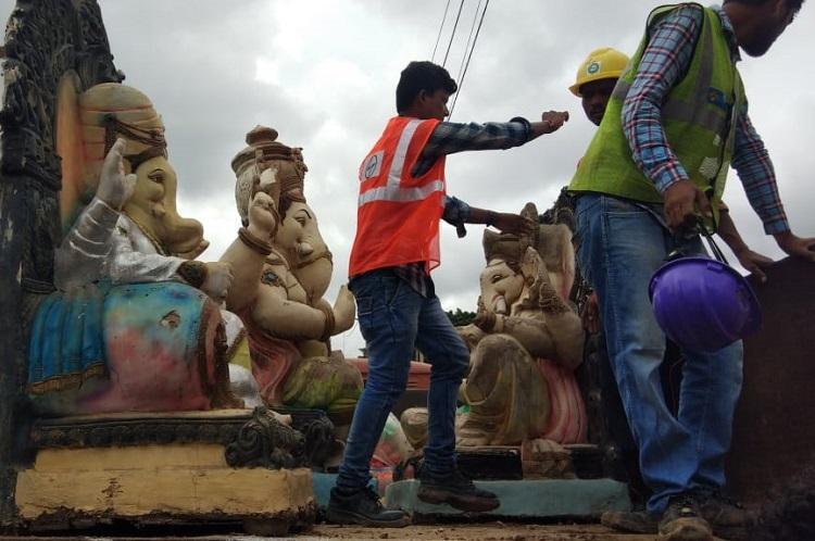 Less than 2 Ganesha idols immersed in Bengaluru this year made of Plaster of Paris