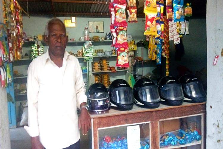 After losing two youngsters to accidents Telangana village lends helmets to locals