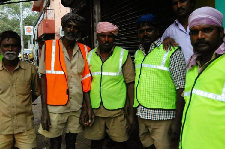 Meet the people who are waging war on the garbage on Chennais streets