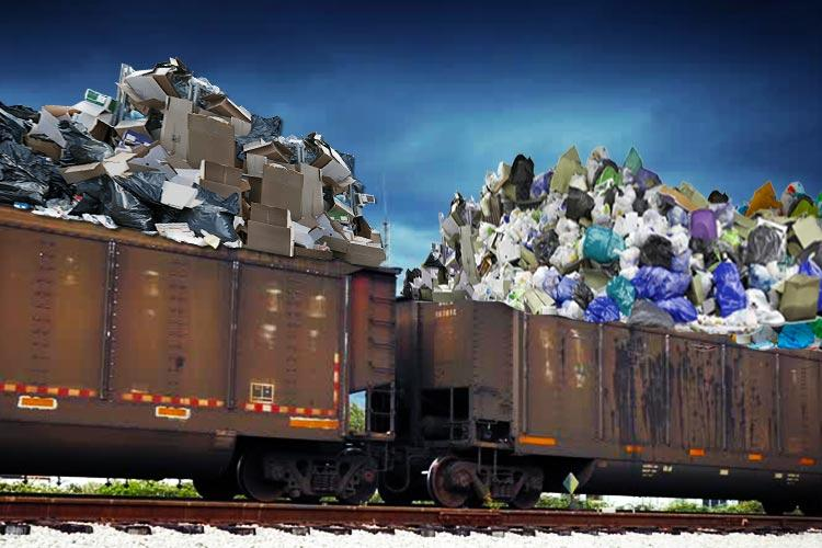 There is still going to be a goods train to export Bengalurus garbage just not to Kolar