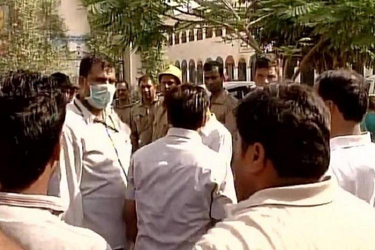 Delhi gas leak: 110 hospitalised from near Tughlakabad truck depot, school evacuated