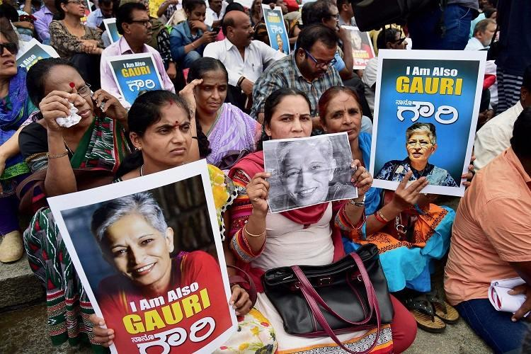 She asked questions they answered with bullets A friend remembers the fiery Gauri Lankesh