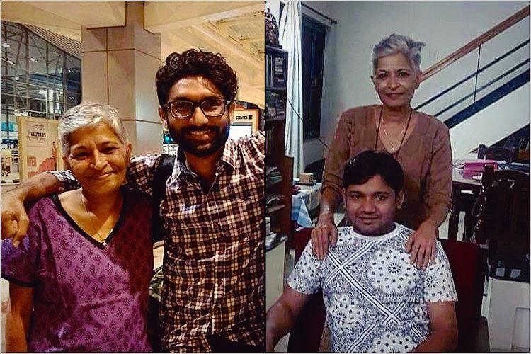 She was like our mother Jignesh Mevani Kanhaiya anguished at Gauri Lankesh murder