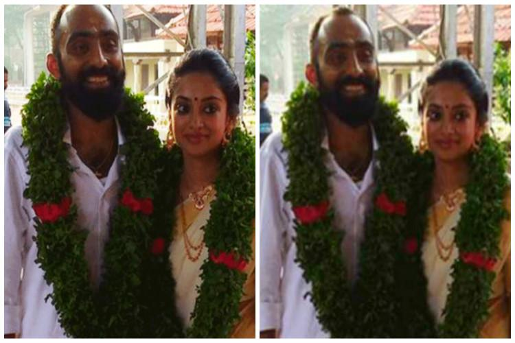 Malayalam actor Gauthami Nair and director Srinath get married