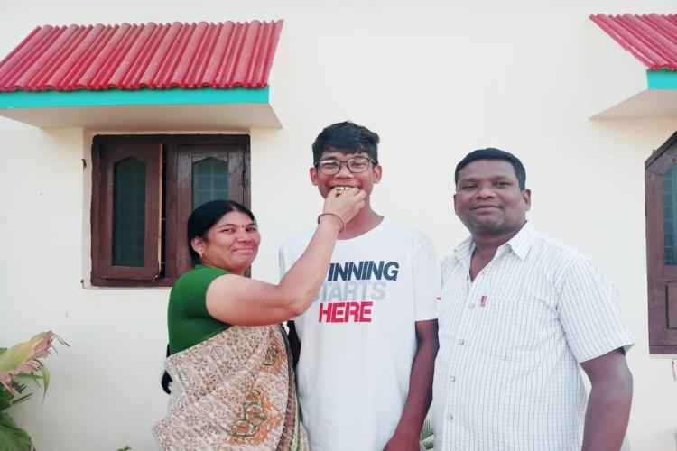 I want to serve my people Adivasi student from Adilabad clears JEE hopes to join IAS